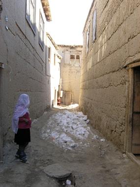 Gässchen in Sufian bâlâ