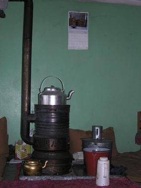 Bâkhori, der Ofen für den Winter