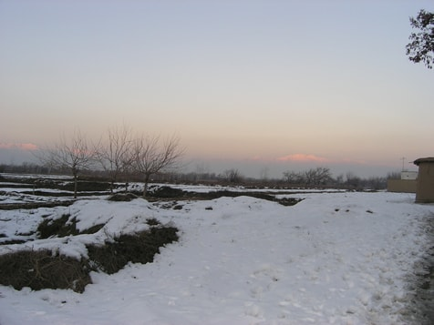 Im Winter ruht die Erde