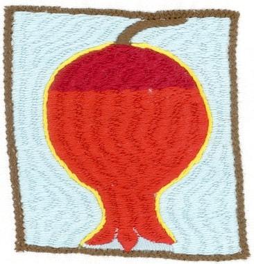 Stickerei von Hangoma