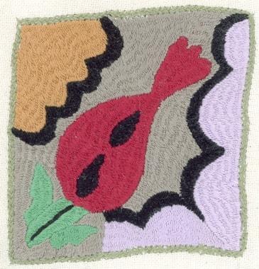 Stickerei von Roya