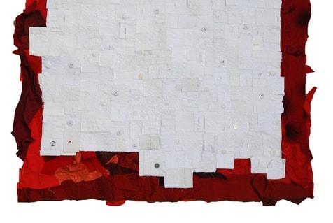"""""""Le tapis des âmes, 2011, detail"""