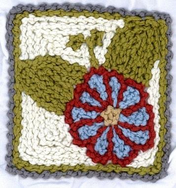 Stickerei von Latifa, Perlenstickerei