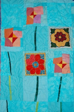"""""""Blüten am Wasser"""", Bernadette Mayr, D, Detail"""