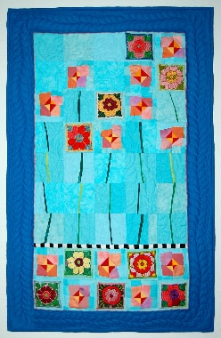 """""""Fleurs au bord de l'eau """", Bernadette Mayr, D"""