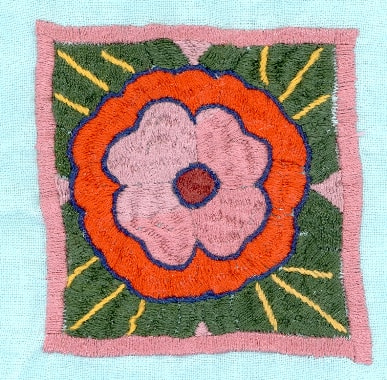Embroidery made by Marakh