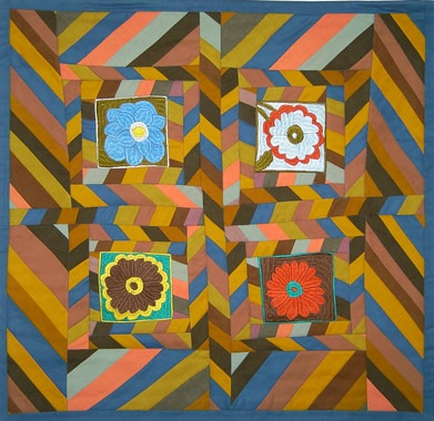 Expo documentaire les premiers quilts guldusi for Au maison quilts