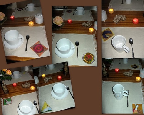 Sets de table de Marie-Francoise Lavigne, F