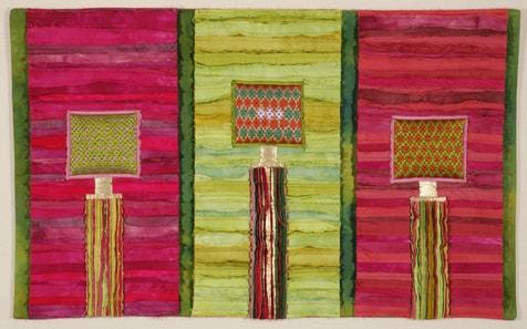 """""""Triptichon aux colonnes"""", Margit Amman von Glembotzi, D"""