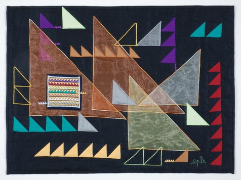 """Four hands's triangles"", Elisabeth Paysan-Le-Roux, F"