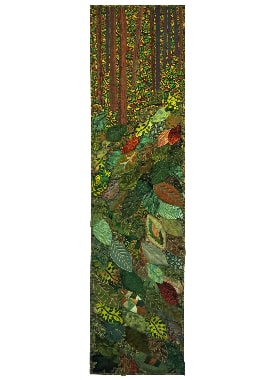 Fall in the North Wood, made by the Frederikkerne Group, Denmark, 127 x 32 cm