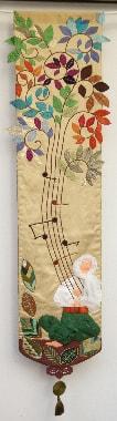 Forest Song, Group by Evy Karatza-Styliara, Greece, 170 x 40 cm