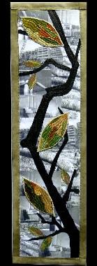 …noch grünt und blüht die Erde, Liselotte Sohr, Germany,<br> 62 x 16 cm