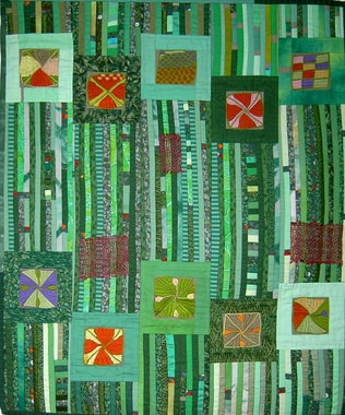 Quilt by Gerlinde Buddensiek