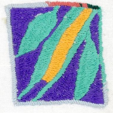 Stickerei von Dehljan