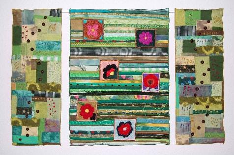 """""""Blumen sind das Lächeln der Welt"""" von Gudrun Seng"""