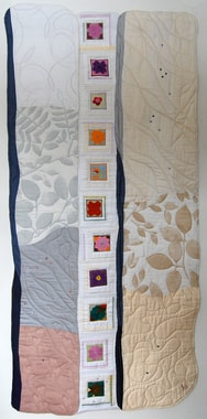 """Dreams in Laghmani"", quilt by Helle Eggebrecht"