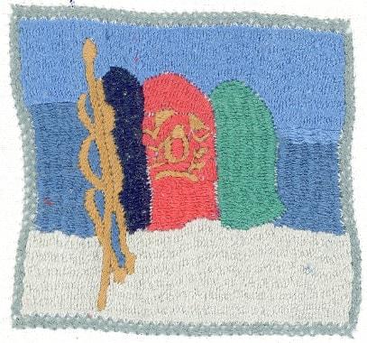 Stickerei von Monawar