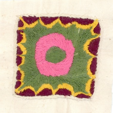 Embroidery made by Fahima