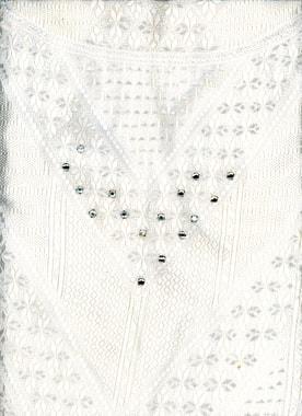 Detail vom Nachthemd