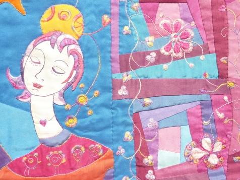 Colette Duval – F - Au jardin d'amour - Detail