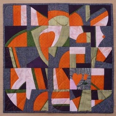 Anne Bouissière - F – Coeur orange