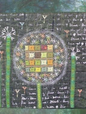 """ Focus on nature and culture II"" made by Monika Schiwy-Jessen, detail"