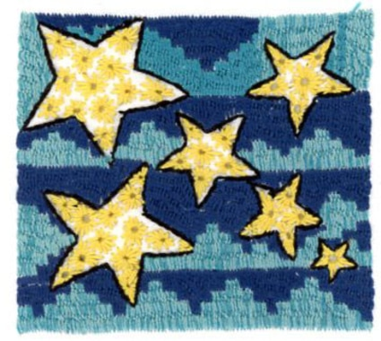 New gallery in our shop: STARS! embroidered by Feriba