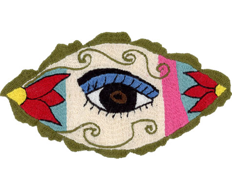Embroidery by Bibigul – embroidered eyes can be bought in our online shop!