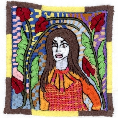 embroidered by Zakera