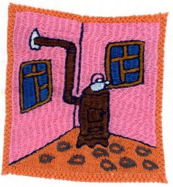 Stickerei von Assina, Bokhari