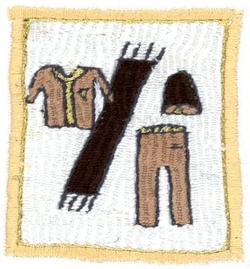 Stickerei von Parwin