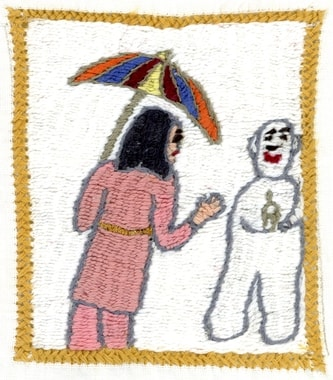 Stickerei von Zarghuna