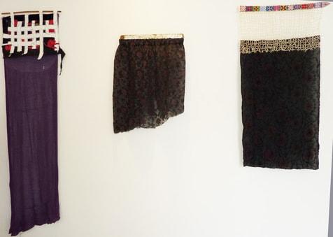 Blick in der Ausstellung bei Quilt star, 2011